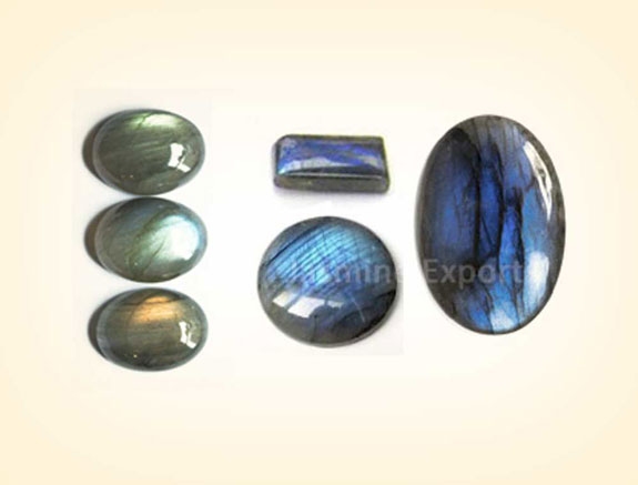 Labradorite cabochons gemstones for jewelry making